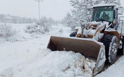 Интензивно се чисти снегот во Делчево