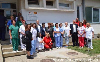Трајковски: здравствените работници се нашите херои
