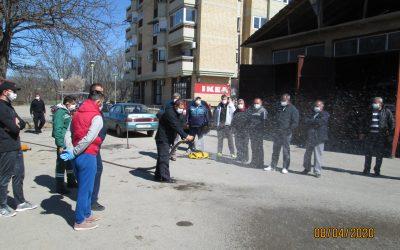 Обука за припадниците на Просторните сили во Делчево