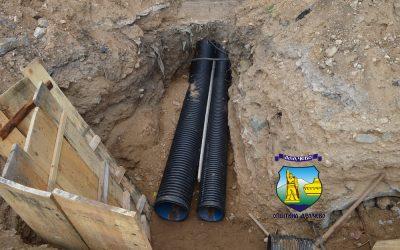 Се гради атмосферска канализација на улицата 7 во населбата СРЦ