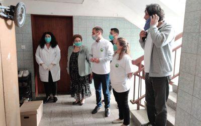 По повод Европската недела на имунизација доделени хуманитарни пакети во Делчево