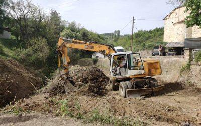 """Започна реконструкцијата на дел од """"Маршал Тито"""" во Делчево"""