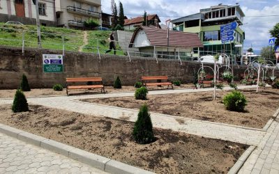 На местото на стара мини депонија изграден нов парк во центарот на Делчево