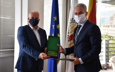 Градоначалникот Трајковски доби Плакета од Царинската управа на РСМ