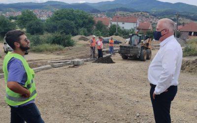 Се градат првите улици во населба Басарица