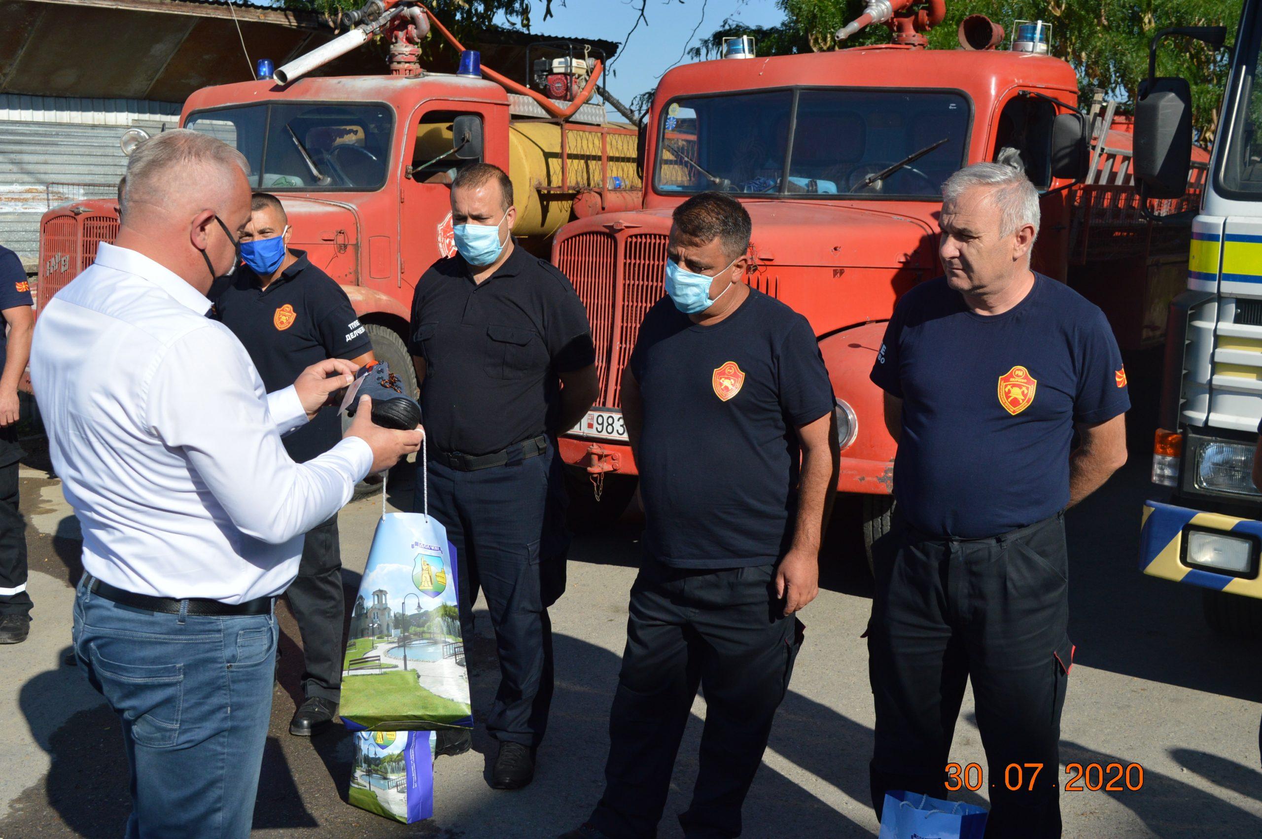 Нова противпожарна опрема за вработените во ТППЕ Делчево