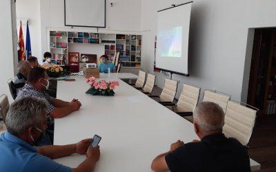 """Презентирани техничките решенија за проектот """"Водоснабдување на Делчево"""""""