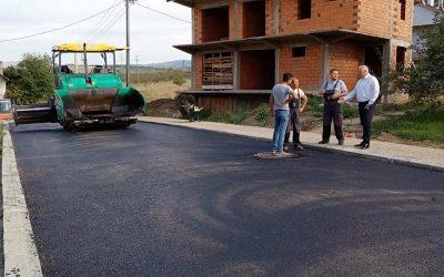Се асфалтираат улиците во населба Басарица
