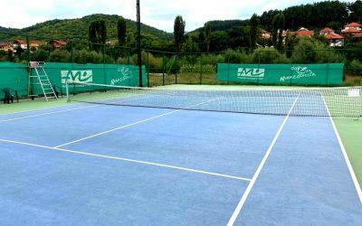 Повторно санирано тениското игралиште