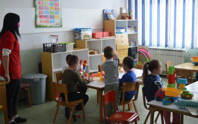 Старата градинка во функција на згрижување на дечињата