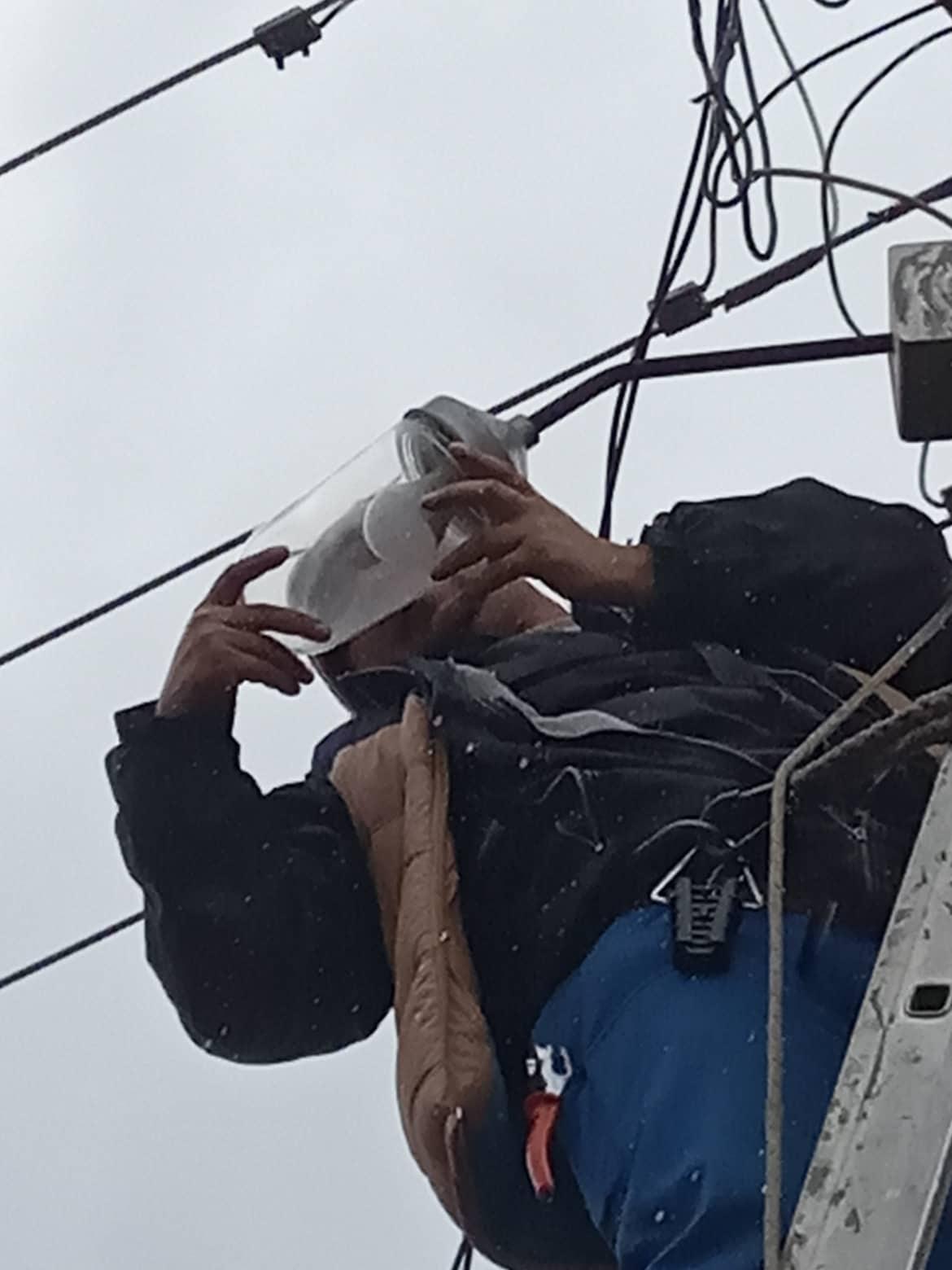 Нови линии за улично осветлување во Делчево