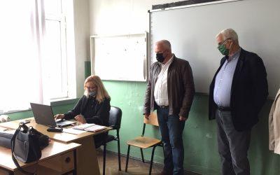 Градоначалникот Трајковски во посета на образовните институции