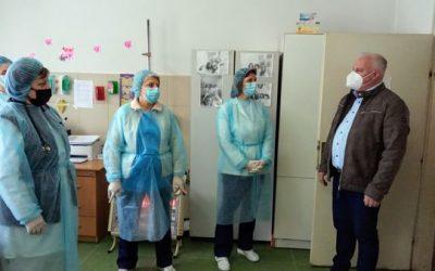 Градоначалникот Трајковски: Вакцината е единствен начин да се победи коронавирусот