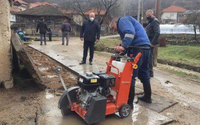 Изградба на крак од фекална канализација во с. Ѕвегор