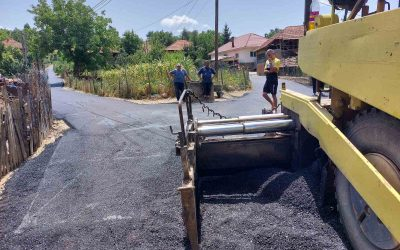 Се асфалтира улица во с. Вирче