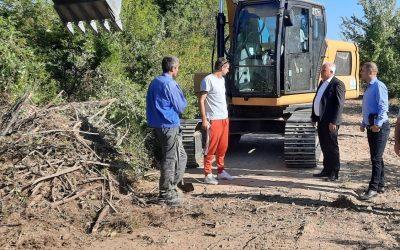 Започна изградбата на локалниот пат Делчево -Тработивиште