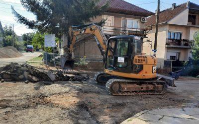 """Се интензивираат работите за реконструкција на ул """"Скопска"""" и Орце Николов"""""""